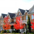 Stock Photo: New Townhomes