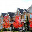 New Townhomes — Stock Photo