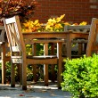 Stock Photo: Patio