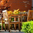 Patio — Stock Photo