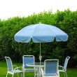 Patio furniture — Stockfoto #7085058