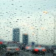 Traffic rainy day — Stock Photo #7085144
