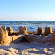 Sand castle — Stock Photo #7085224