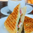 Grilled sandwich — Foto Stock
