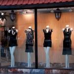 Boutique window — Stock Photo