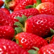 Strawberries macro — Stock fotografie