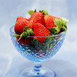 Strawberry still life — Stock Photo