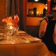 Stock Photo: Dinner table setting 1