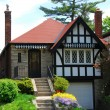 Stock Photo: Tudor home
