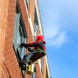 Window washer - Stock Photo