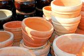 Vasi di terracotta — Foto Stock