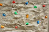 Muro de escalada de roca — Foto de Stock