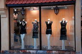 Boutique window — Stock Photo