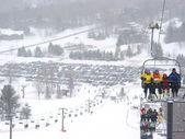 Esquí de invierno — Foto de Stock