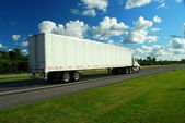 Moving truck — Stock Photo