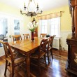 Stock Photo: Dining room furniture