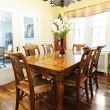 Stock Photo: Dining room interior