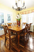 Dining room interior — Stock Photo
