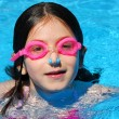 Stock Photo: Child swimming pool