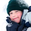 Child fun winter - Stock Photo
