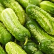 Cucumbers background — Stock Photo #7611837