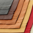 Stock Photo: Leather upholstery samples
