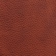 Brown leather background — Foto de stock #7612014