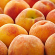 Peaches background — Stock Photo