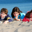 Royalty-Free Stock Photo: Children on a beach