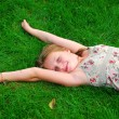 Young girl grass — Stock Photo #7638523