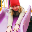 Girl on playground — Stock Photo #7638638