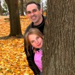 Family park autumn — Stock Photo #7639258