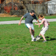 Playing soccer — Stock Photo #7639265
