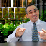 Businessman talking — Stock Photo