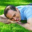 Stock Photo: Man relaxing