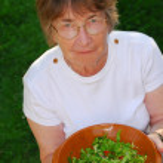 Healthy senior woman — Stock Photo #7639530