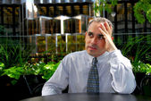 Businessman frustrated — Stock Photo