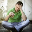 Depressed young man — Stock Photo #7059336