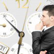 Losing time and money - Stock Photo
