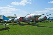 Yak-28L bomber — Stock Photo
