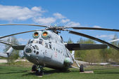 Mi-6 helicopter — Stock Photo