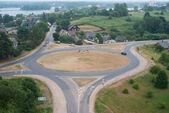 Road interchange — Stock Photo