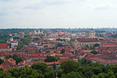 Historic center of Vilnius — Stock Photo