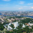 Stock Photo: Birdseye view of Saint Petersburg