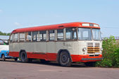 LiAZ-158 bus — Foto Stock