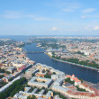 Birdseye view of Saint Petersburg - Stock Photo
