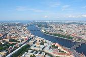 Birdseye view of Saint Petersburg — Stock Photo