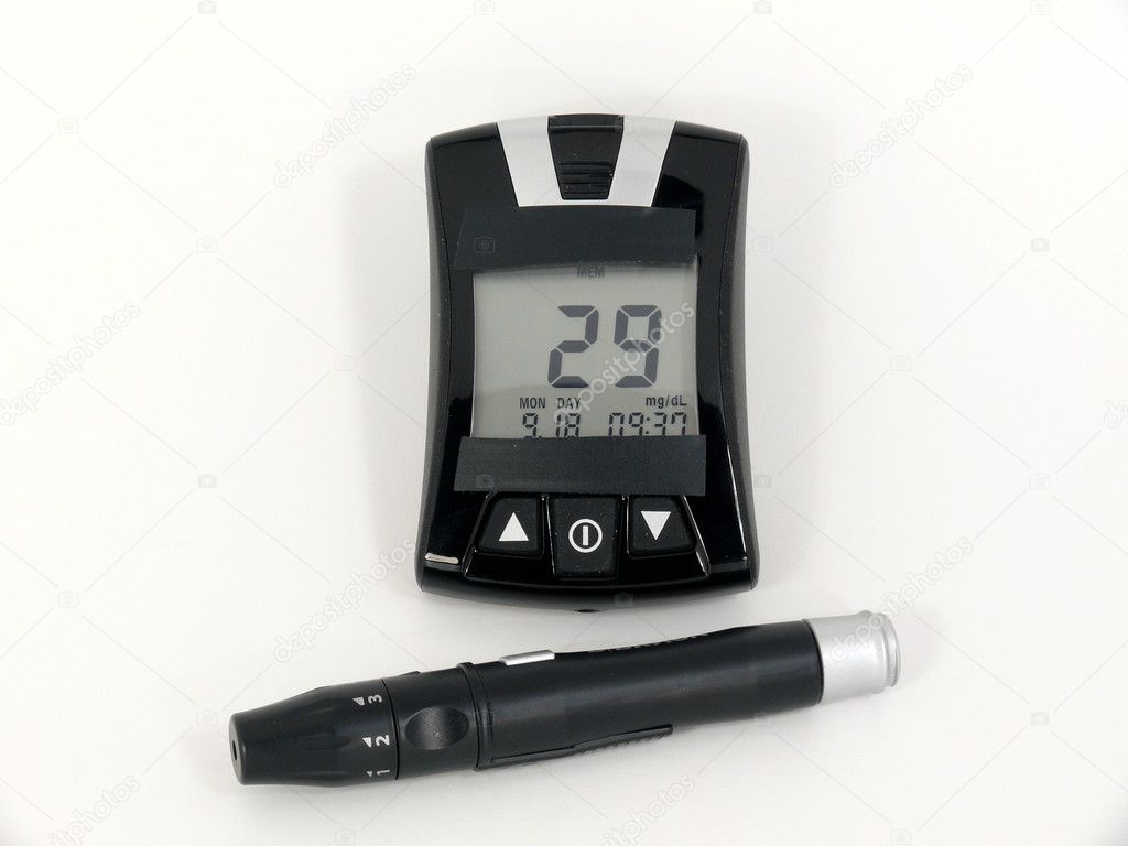 dangerous low glucose value — Stock Photo #6881482