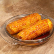 Caramelized sugar corn — Stock Photo