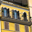 Italian windows — Stock Photo